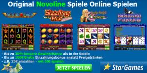 im Stargames Novoline Online Spielen
