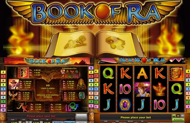 online casino novoline game book of ra