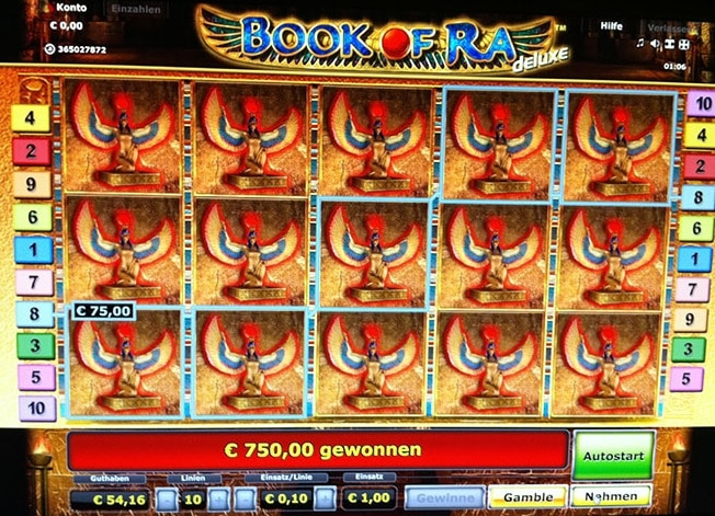 online slot games book auf ra