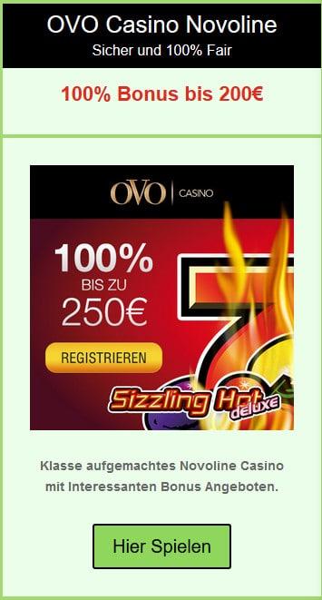 OVO Novoline Casino Online
